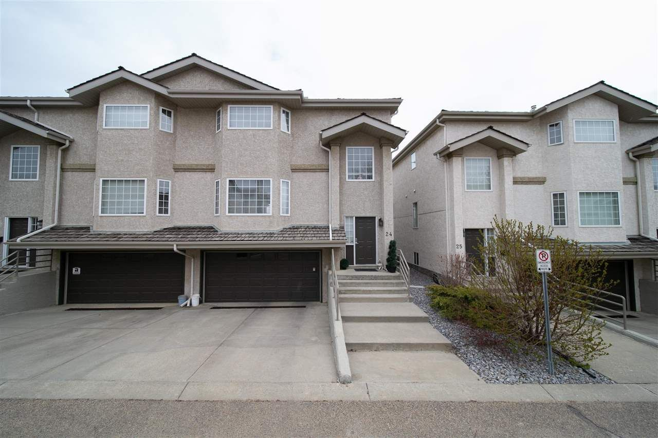 Main Photo: 24 1295 CARTER CREST Road SW in Edmonton: Zone 14 Townhouse for sale : MLS®# E4241426