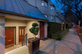 """Photo 1: 1355 W 8TH Avenue in Vancouver: Fairview VW Townhouse for sale in """"FAIRVIEW VILLAGE"""" (Vancouver West)  : MLS®# R2540948"""