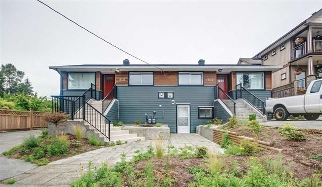Main Photo: 1531-1533 HAMMOND AVENUE in : Coquitlam Condo for sale : MLS®# R2084361