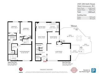 """Photo 20: 101 235 KEITH Road in West Vancouver: Cedardale Townhouse for sale in """"SPURWAY GARDENS"""" : MLS®# R2393572"""