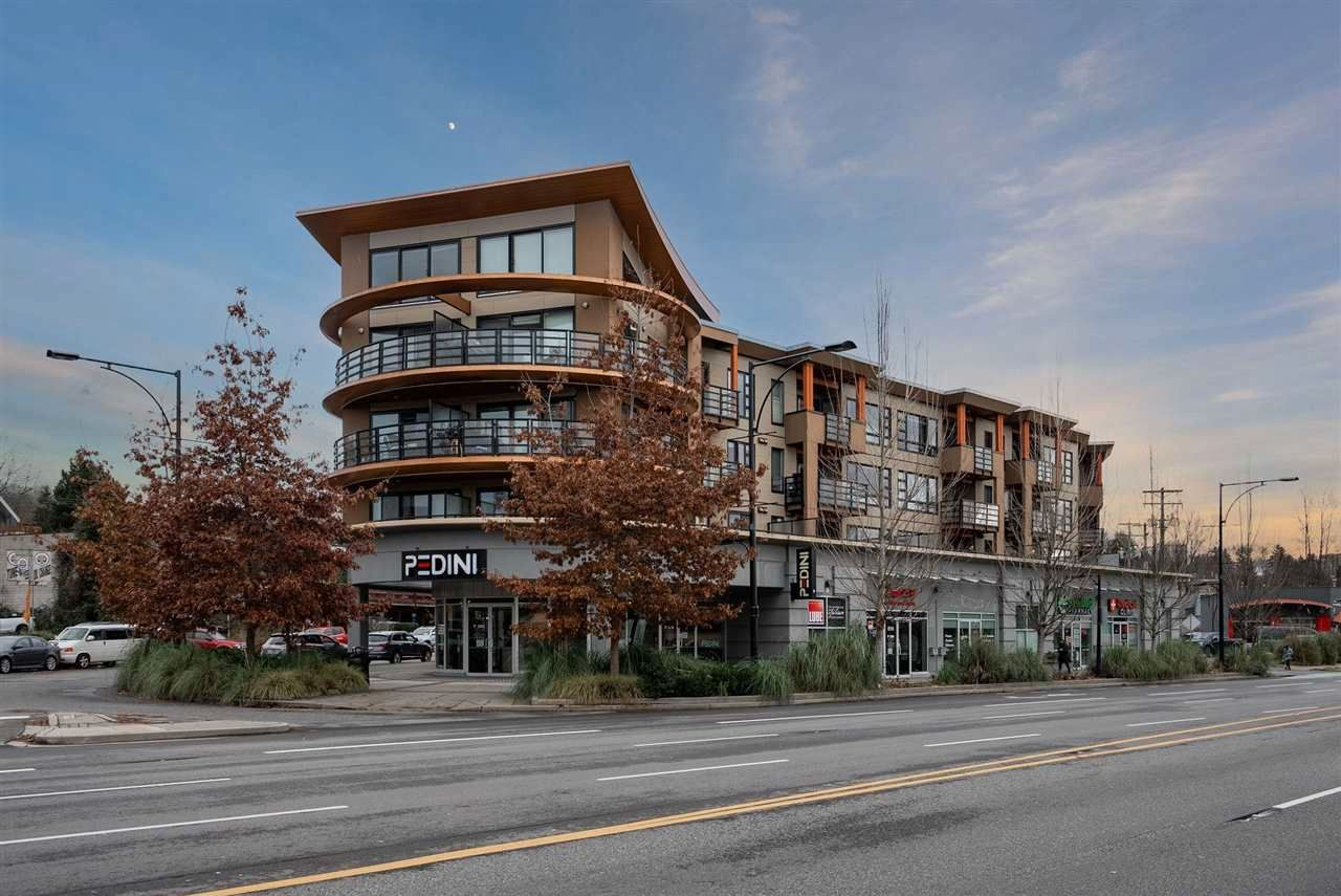 "Main Photo: 208 857 W 15TH Street in North Vancouver: Mosquito Creek Condo for sale in ""The Vue"" : MLS®# R2575917"