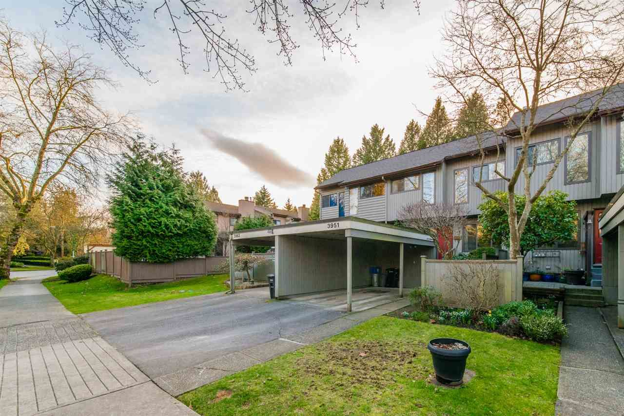 Main Photo: 3951 GARDEN GROVE DRIVE in Burnaby: Greentree Village Townhouse for sale (Burnaby South)  : MLS®# R2439566