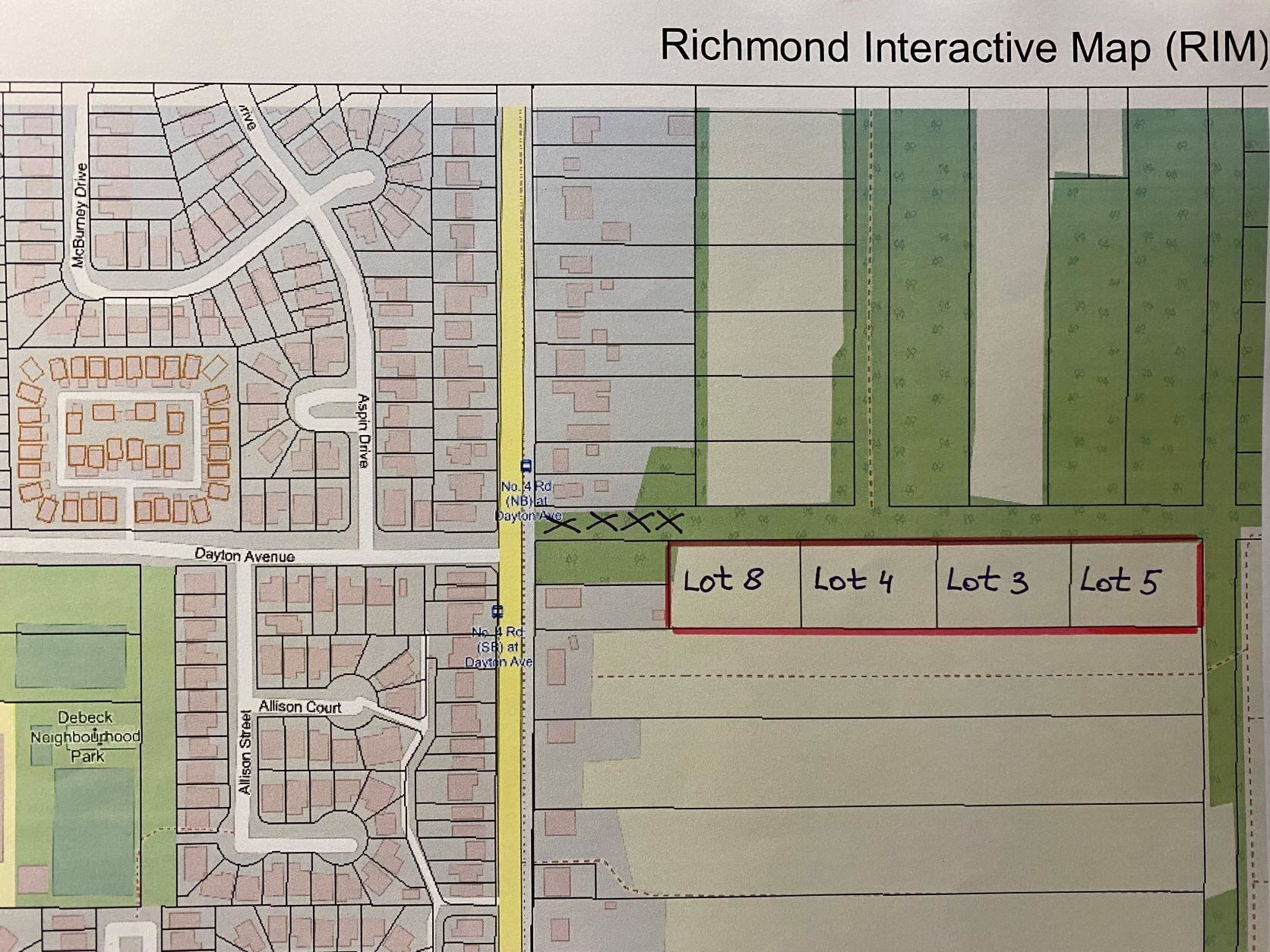 Main Photo: Lot 8 ,4,3,5 NO ACCESS in Richmond: McLennan Land for sale : MLS®# R2609837
