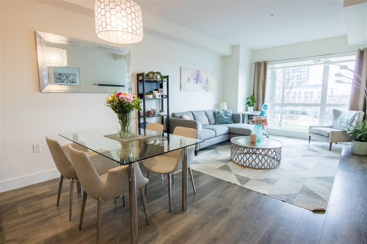 """Main Photo: 502 8580 RIVER DISTRICT Crossing in Vancouver: South Marine Condo for sale in """"Two Town Center"""" (Vancouver East)  : MLS®# R2539514"""