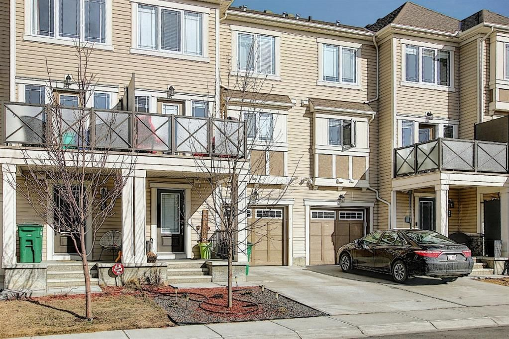 Main Photo: 110 Hillcrest Gardens SW: Airdrie Row/Townhouse for sale : MLS®# A1090717