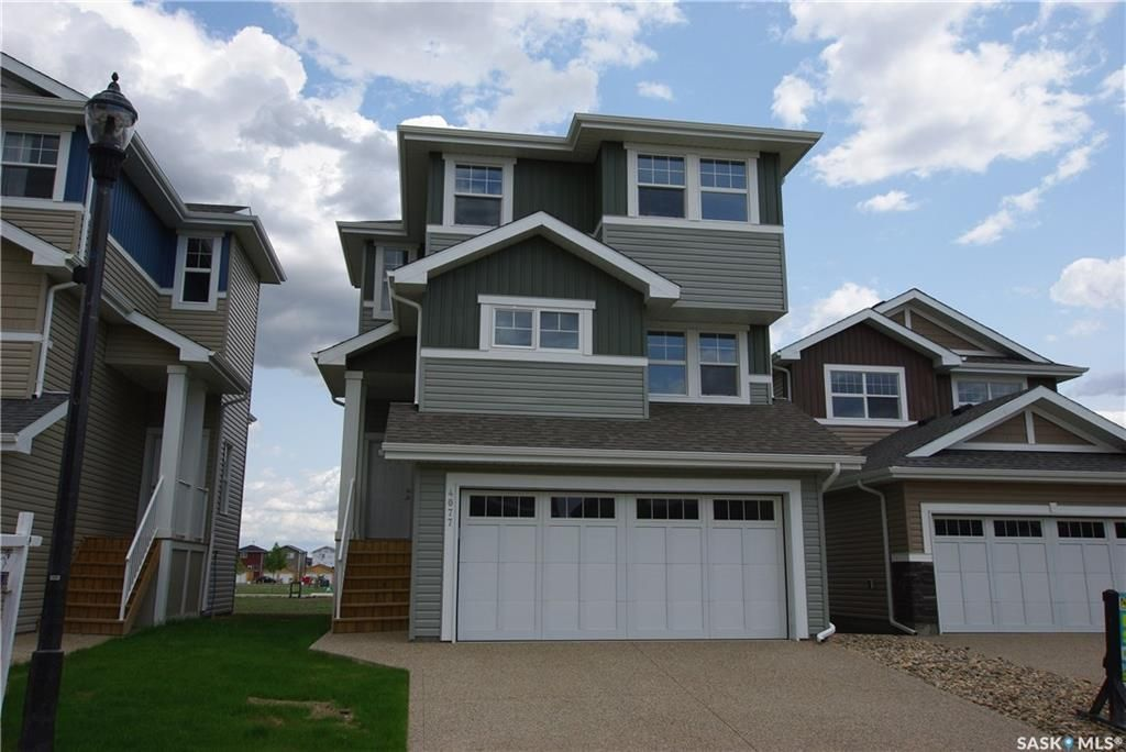 Main Photo: 4077 Delhaye Way in Regina: Harbour Landing Residential for sale : MLS®# SK849989