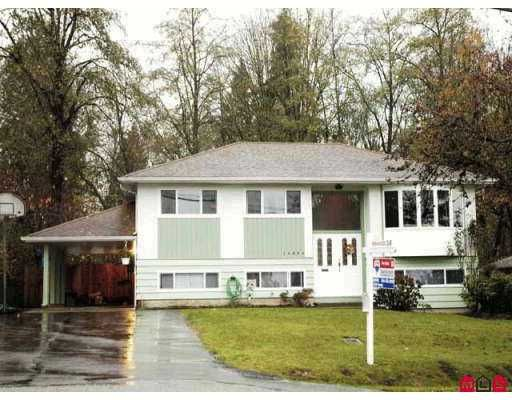 "Main Photo: 14894 GLEN AVON Drive in Surrey: Bolivar Heights House for sale in ""Birdland"" (North Surrey)  : MLS®# F2625156"