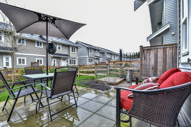 Photo 20: Photos: 23 12161 237 STREET in Maple Ridge: East Central Townhouse for sale : MLS®# R2043751