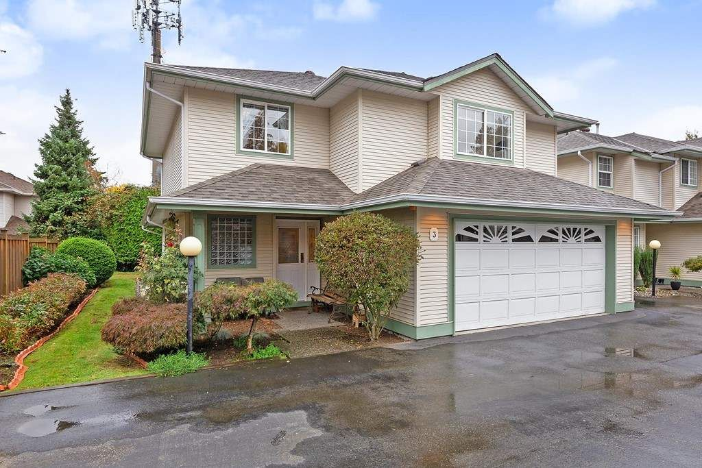 Main Photo: 3 19270 122A Avenue in Pitt Meadows: Central Meadows Townhouse for sale : MLS®# R2411482