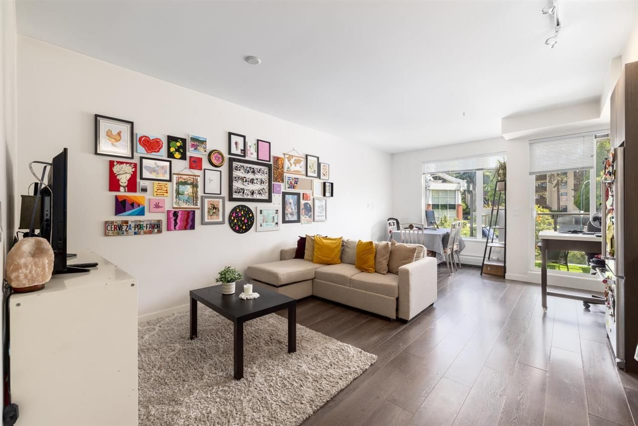 """Main Photo: 405 417 GREAT NORTHERN Way in Vancouver: Strathcona Condo for sale in """"Canvas"""" (Vancouver East)  : MLS®# R2591582"""