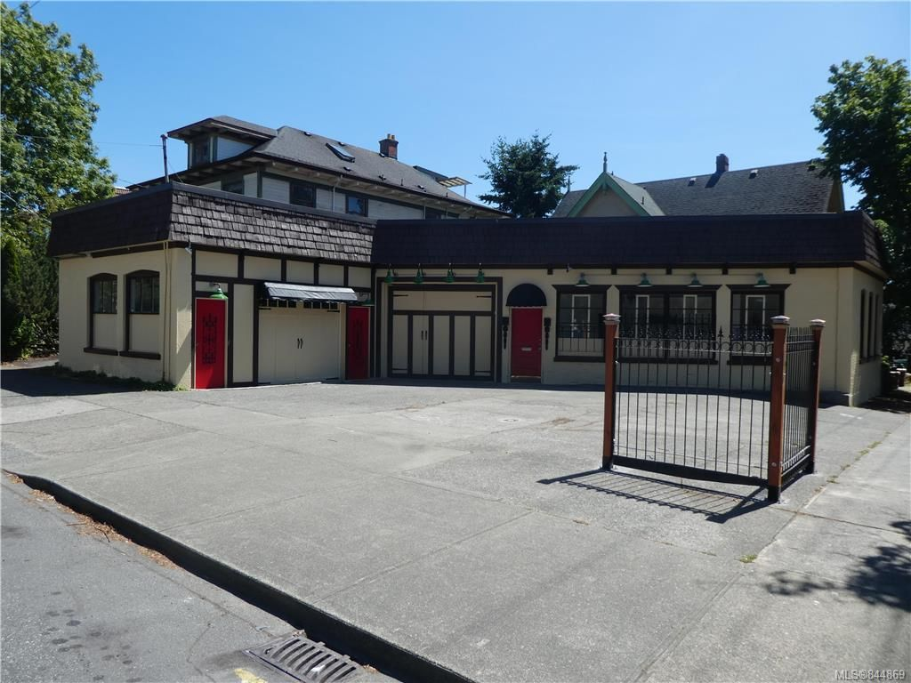 Main Photo: 617 Vancouver St in Victoria: Vi Fairfield West Retail for sale : MLS®# 844869