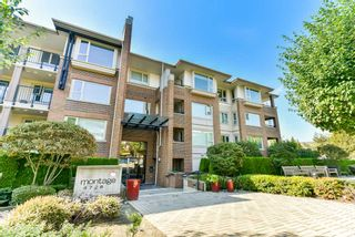 """Photo 1: 306 4728 DAWSON Street in Burnaby: Brentwood Park Condo for sale in """"MONTAGE"""" (Burnaby North)  : MLS®# R2300528"""