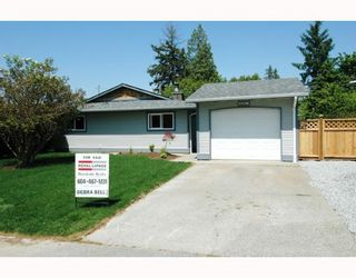 Photo 1: 21096 PENNY Lane in Maple_Ridge: Southwest Maple Ridge House for sale (Maple Ridge)  : MLS®# V647961