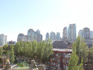 Photo 5: # 504 950 CAMBIE ST in Vancouver: Yaletown Condo for sale (Vancouver West)  : MLS®# V1072231
