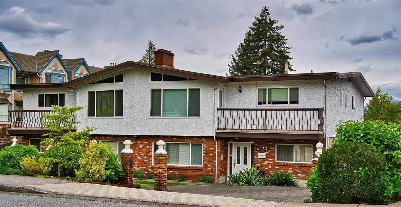 Main Photo: 4235 SARDIS Street in Burnaby: Central Park BS Duplex for sale (Burnaby South)  : MLS®# R2573988