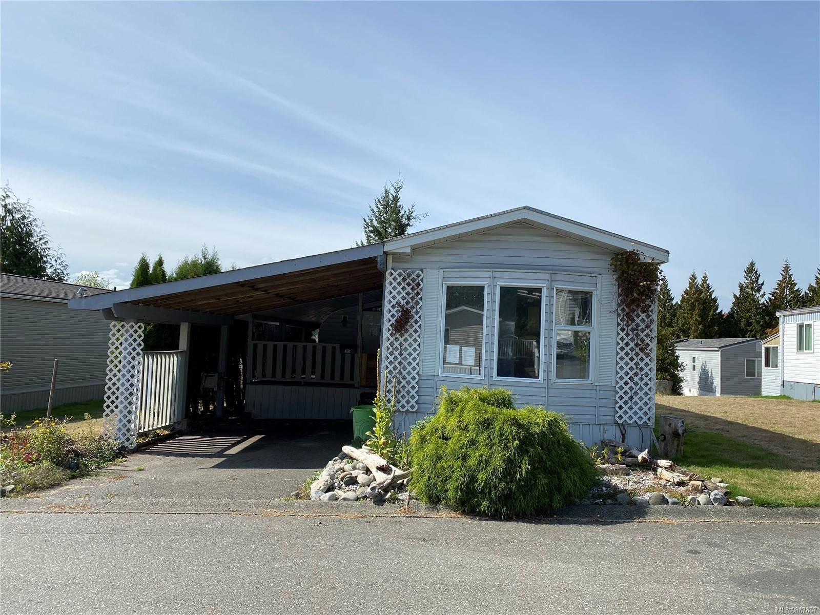 Main Photo: 35 1160 Shellbourne Blvd in Campbell River: CR Campbell River Central Manufactured Home for sale : MLS®# 887807