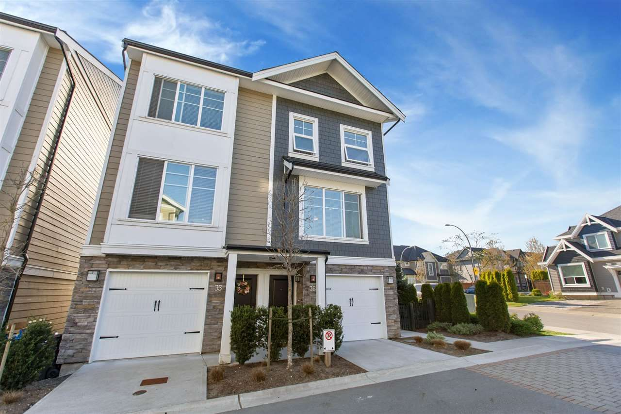 "Main Photo: 36 21150 76A Avenue in Langley: Willoughby Heights Townhouse for sale in ""HUTTON"" : MLS®# R2567917"