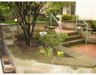 """Photo 3: 1 1182 W 7TH Avenue in Vancouver: Fairview VW Condo for sale in """"SAN FRANCISCAN"""" (Vancouver West)  : MLS®# V769853"""