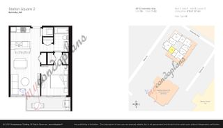 """Photo 1: 2205 4670 ASSEMBLY Way in Burnaby: Metrotown Condo for sale in """"Station Square"""" (Burnaby South)  : MLS®# R2625336"""