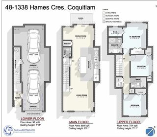 """Photo 20: 48 1338 HAMES Crescent in Coquitlam: Burke Mountain Townhouse for sale in """"FARRINGTON PARK"""" : MLS®# R2453461"""