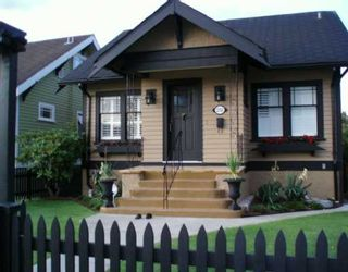 Main Photo: 2356 CHARLES Street in Vancouver: Grandview VE House for sale (Vancouver East)  : MLS®# V626942