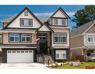 "Photo 1: 3960 KALEIGH Court in Abbotsford: Abbotsford East House for sale in ""SANDY HILL"" : MLS®# F2915507"
