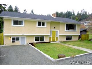Photo 1: 3536 Wishart Rd in VICTORIA: Co Latoria House for sale (Colwood)  : MLS®# 494985