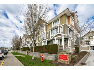 """Photo 1: 27 20159 68 Avenue in Langley: Willoughby Heights Townhouse for sale in """"Vantage"""" : MLS®# R2539068"""