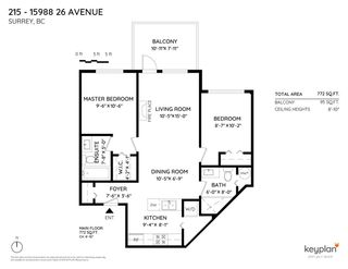 """Photo 37: 215 15988 26 Avenue in Surrey: Grandview Surrey Condo for sale in """"THE MORGAN"""" (South Surrey White Rock)  : MLS®# R2455844"""