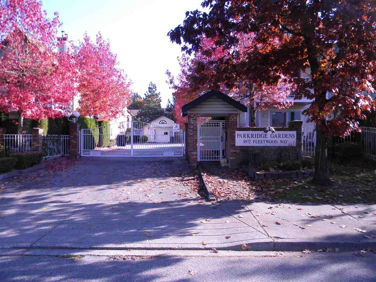 "Main Photo: 702 8972 FLEETWOOD Way in Surrey: Fleetwood Tynehead Townhouse for sale in ""Parkridge Gardens"" : MLS®# R2317979"