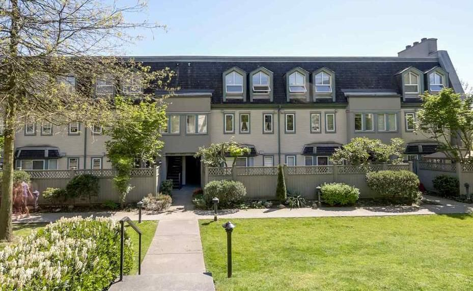 """Main Photo: 2 1215 BRUNETTE Avenue in Coquitlam: Maillardville Townhouse for sale in """"FONTAINE BLEU"""" : MLS®# R2114041"""