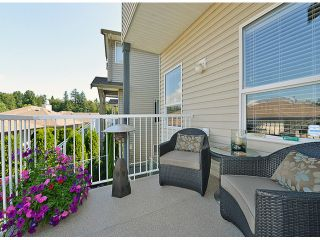 """Photo 17: 121 33751 7TH Avenue in Mission: Mission BC Townhouse for sale in """"Heritage Park Place"""" : MLS®# F1418910"""