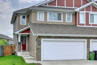 Photo 1: 16611 14 Avenue in Edmonton: Zone 56 House Half Duplex for sale : MLS®# E4248424