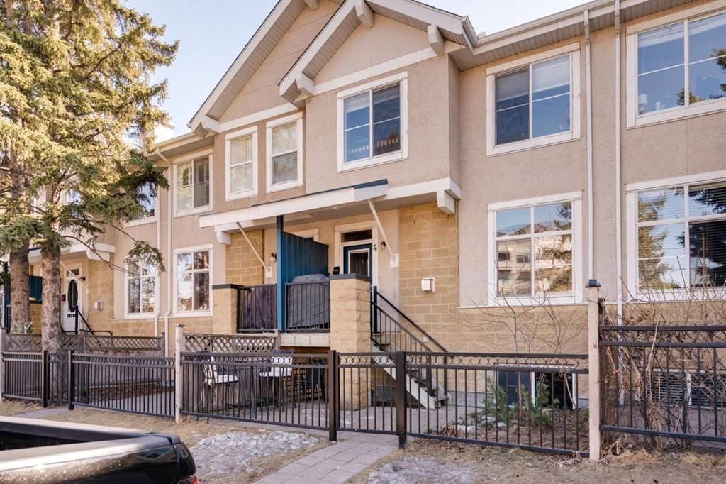 Main Photo: 4 2001 34 Avenue SW in Calgary: Altadore Row/Townhouse for sale : MLS®# A1094938