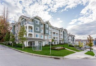 """Photo 1: 314 16388 64 Avenue in Surrey: Cloverdale BC Condo for sale in """"The Ridge at Bose Farms"""" (Cloverdale)  : MLS®# R2213779"""