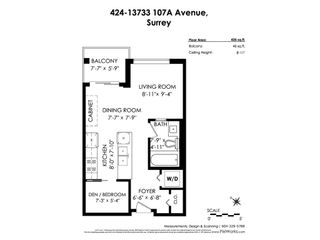 "Photo 25: 424 13733 107A AVE Avenue in Surrey: Whalley Condo for sale in ""Quattro"" (North Surrey)  : MLS®# R2530262"