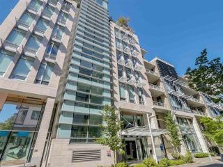 "Photo 1: 708 77 WALTER HARDWICK Avenue in Vancouver: False Creek Condo for sale in ""KAYAK"" (Vancouver West)  : MLS®# R2535395"