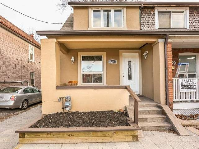 Main Photo: 2341 E Gerrard Street in Toronto: East End-Danforth House (2-Storey) for lease (Toronto E02)  : MLS®# E3446045