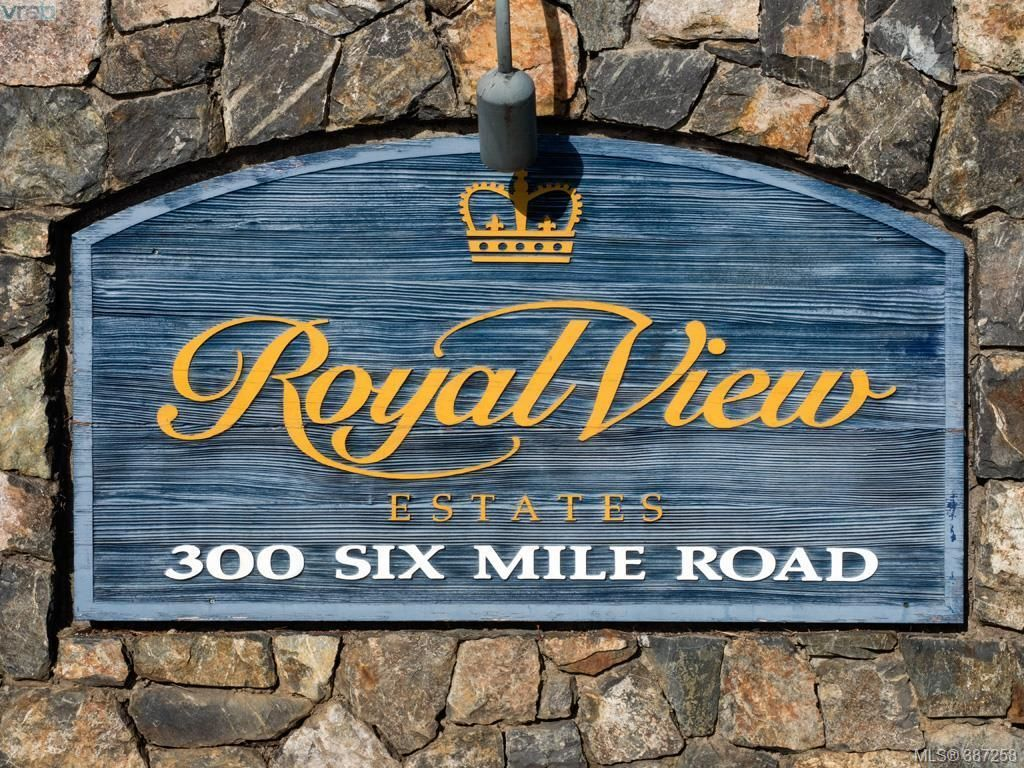 Main Photo: 27 300 Six Mile Rd in VICTORIA: VR Six Mile Row/Townhouse for sale (View Royal)  : MLS®# 778161
