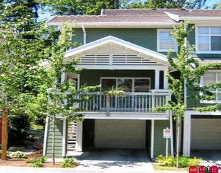 """Photo 1: 161 15168 36TH Avenue in Surrey: Morgan Creek Townhouse for sale in """"SOLAY"""" (South Surrey White Rock)  : MLS®# F2717397"""