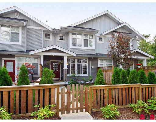 Main Photo: 125 20449 66TH AVENUE in : Willoughby Heights Townhouse for sale : MLS®# F2721899