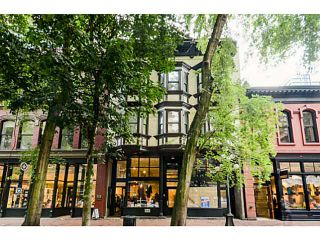 Photo 1: # 305 36 WATER ST in Vancouver: Downtown VW Condo for sale (Vancouver West)  : MLS®# V1031623