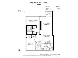 "Photo 11: 2902 13688 100 Avenue in Surrey: Whalley Condo for sale in ""PARK PLACE 1"" (North Surrey)  : MLS®# R2451812"