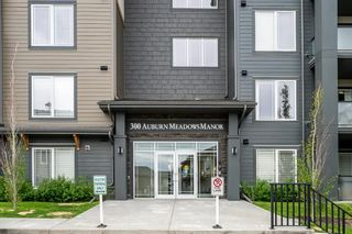 Main Photo: 105 300 Auburn Meadows Manor SE in Calgary: Auburn Bay Apartment for sale : MLS®# A1117698
