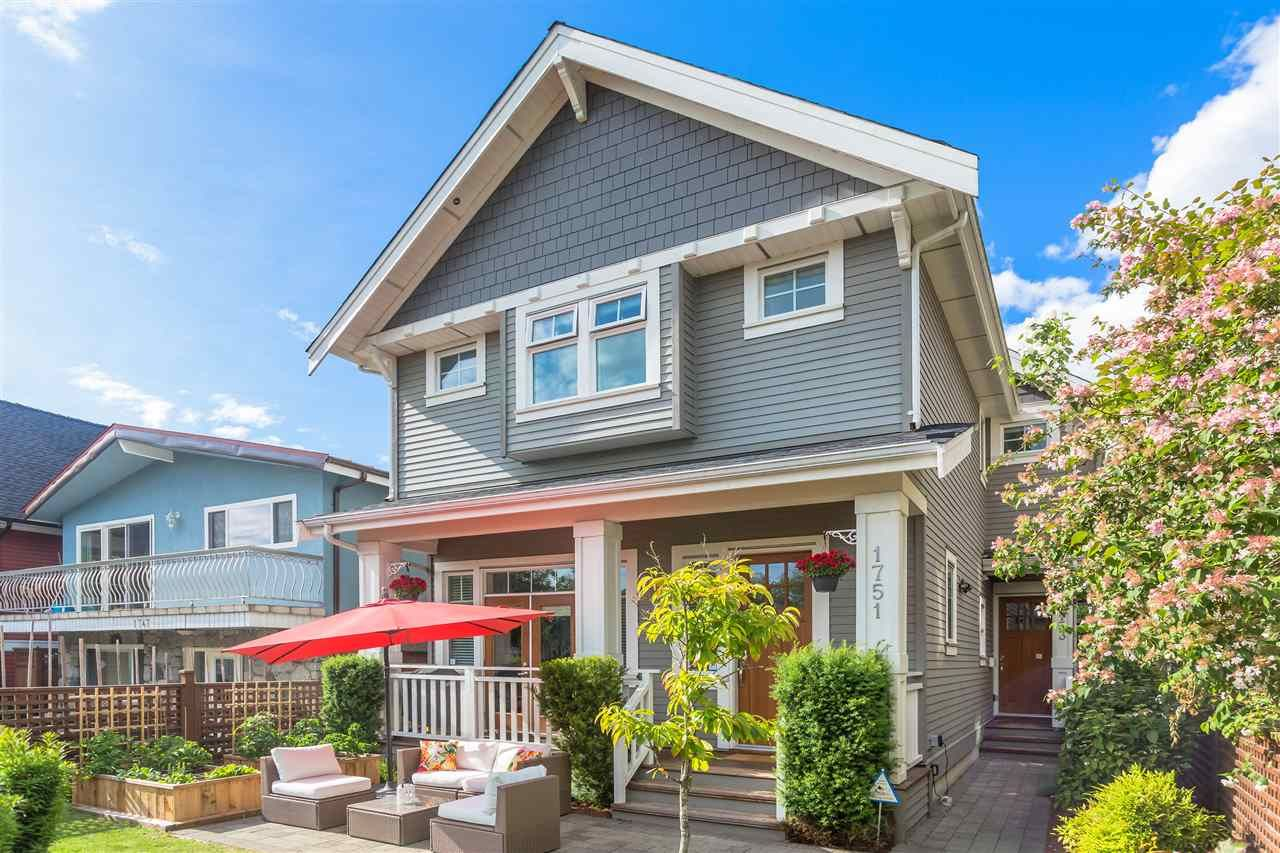 Main Photo: 1751 E 2ND AVENUE in Vancouver: Grandview Woodland 1/2 Duplex for sale (Vancouver East)  : MLS®# R2463595