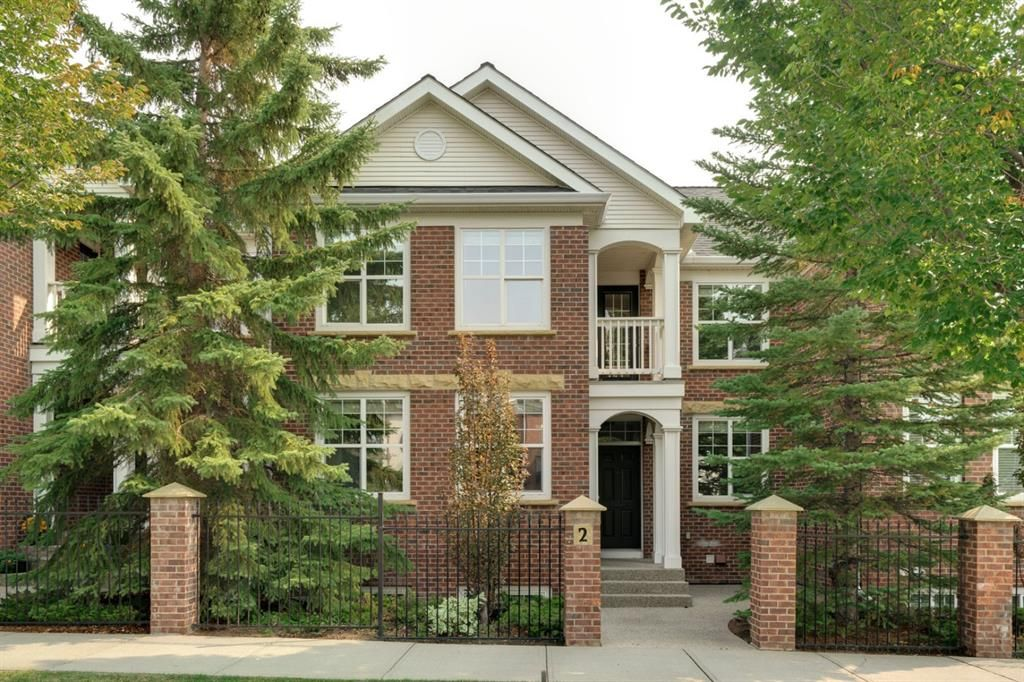 Main Photo: 2 10 St Julien Drive SW in Calgary: Garrison Woods Row/Townhouse for sale : MLS®# A1146015