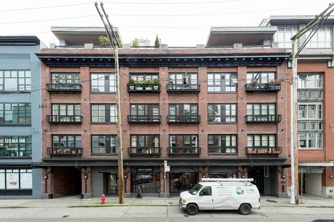 Main Photo: 303 1066 HAMILTON STREET in : Yaletown Condo for sale : MLS®# R2122896
