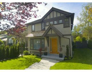 Photo 1: 5305 TRAFALGAR Street in Vancouver: Kerrisdale House for sale (Vancouver West)  : MLS®# V629063
