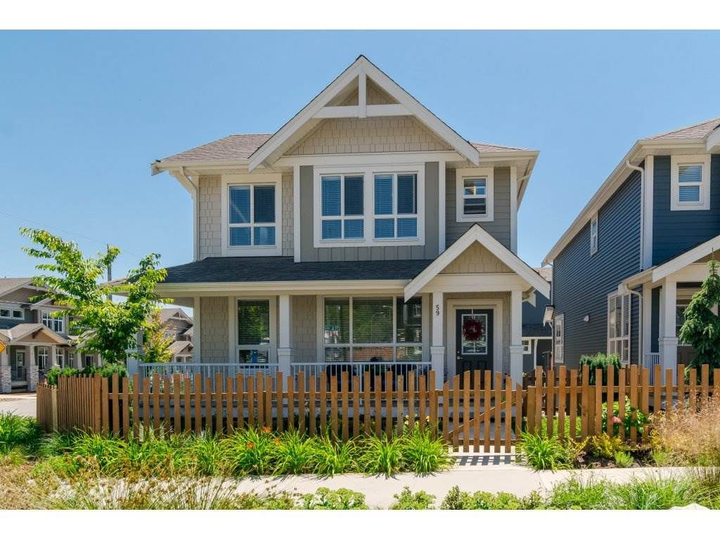"""Main Photo: 59 7059 210 Street in Langley: Willoughby Heights Townhouse for sale in """"ALDER"""" : MLS®# R2184886"""