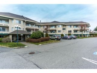 """Photo 1: 245 2451 GLADWIN Road in Abbotsford: Abbotsford West Condo for sale in """"Centennial Court"""" : MLS®# R2337024"""